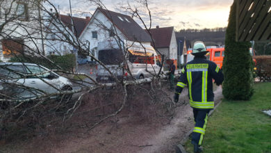 Photo of Sturmtief Eberhard löste kreisweit 314 Feuerwehreinsätze aus